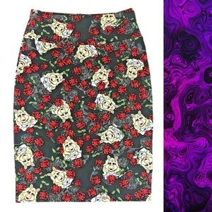 Lularoe Cassie Skirt Size M Miss Piggy Muppets